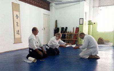 Treino Mensal Jun 2014 e entrega de diplomas shodan