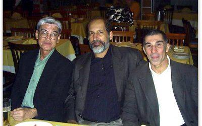 Sensei Shikanai, Sensei Alberto Ferreira e Sensei Carlos Nogueira