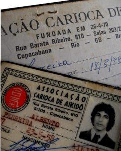 Carteira de afiliação do Professor Alberto - Niterói, década de 70