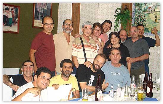 Confraternização de final de ano – Dezembro de 2008 – A.R.J.