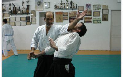 Professor Alberto e alunos de Aikido | Dojo Marzullo | 2008