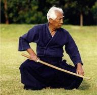 Jodo sendo praticado no Dojo EN em MG